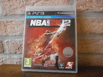 Jeu PS3 vidéo Blu-ray Disc NBA 2K12  pour Playstation 3