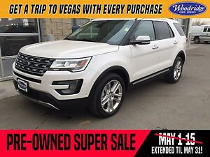 2017 Ford Explorer Limited PRE-OWNED SUPER SALE ON NOW! 3.5L...