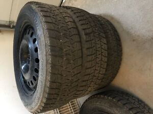 4   17inch Bridgestone tires for sale with rims