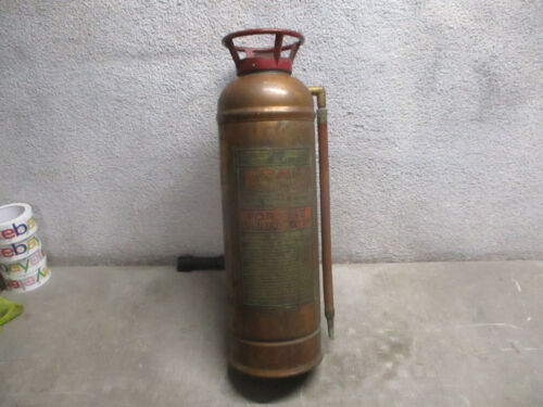 FIRE EXTINGUISHER 1920S