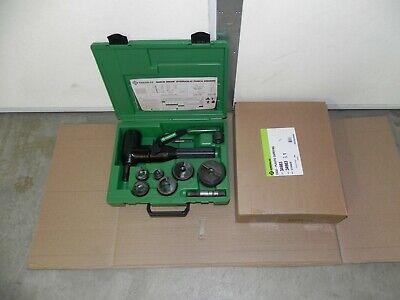 Greenlee 7906sb Quick Draw 90 Hydraulic Punch Driver Kit 12 - 2 Conduit Nice