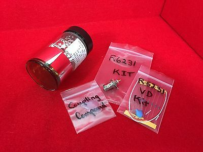 Hamamatsu R6231 2 Pmt Kit Photomultiplier Tube For Scintillation Detector
