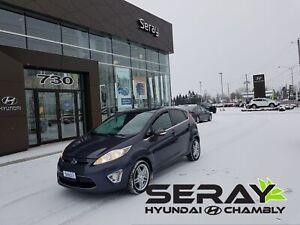 2013 Ford Fiesta Titanium, cuir, mags, toit, banc chauffant