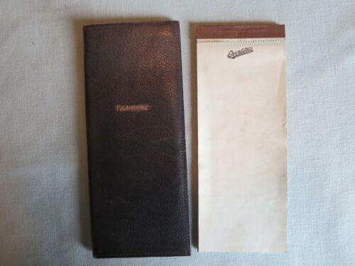 Champion Spark Plug Co. Toledo Ohio Leather 1920s Billfold & Overland Notepad