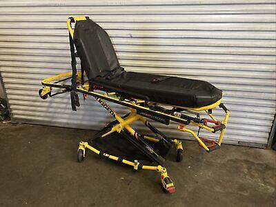 Stryker Stretcher 6082 Mx-pro Ambulance Cot Stretcher W Mattress 650 Lb