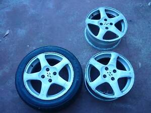 Speedy 15 x 6.5JJ 4 x 100 Rims, Wheels and Tyre 15 Inch Medowie Port Stephens Area Preview