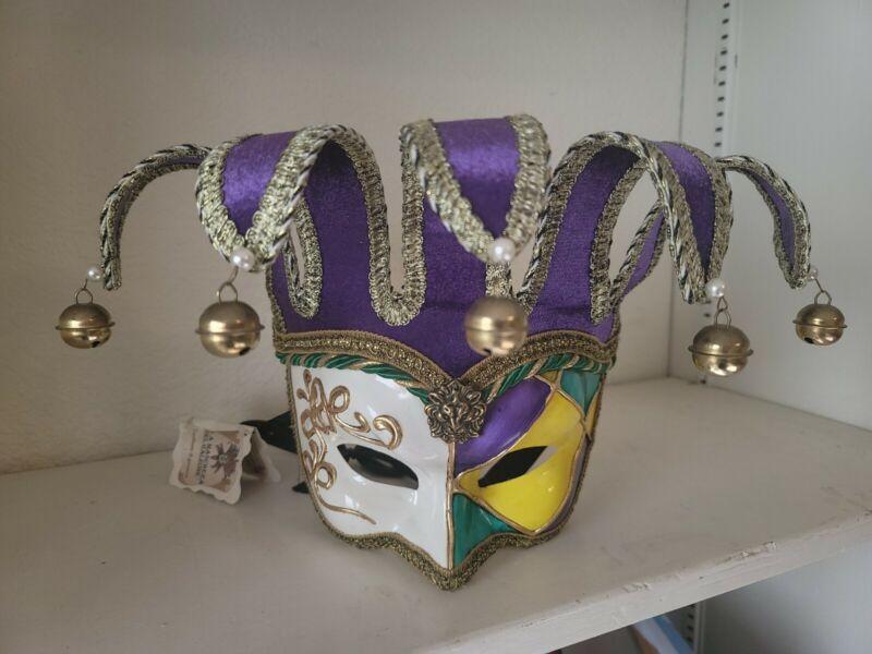 La Maschera Del Galeone Harlequin  Face Mask Brand New Decorative Original