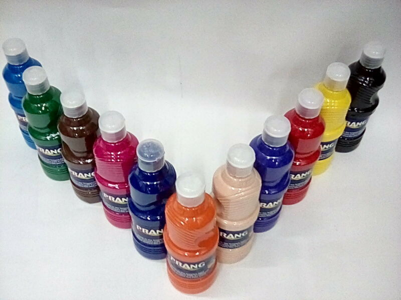 Prang Ready-to-Use Tempera Paint, Assorted Colors, 11 Count