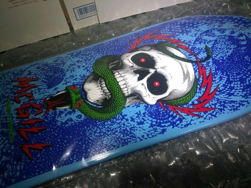 Powell Peralta Bones Brigade 10th Series Mike McGill Skateboard Deck (NEW BLUE)