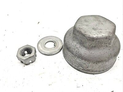 Used Fordson Tractor Front Wheel Hub Cap With Washer And Nut Ref 4621-400
