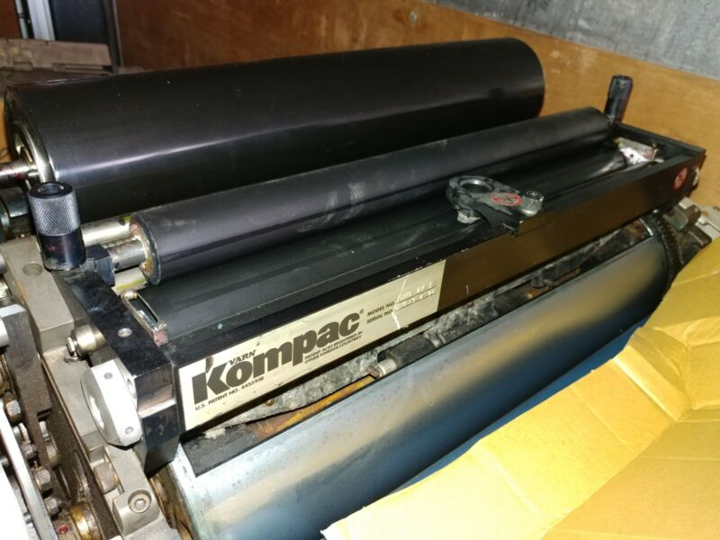 Hamada 700 or 770 Kompac Damp System complete for main press