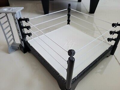 "WWF WWE WORLD WRESTLING ENTERTAINMENT ACTION FIGURE RING 13"" x 13"" 2015 MATTEL"