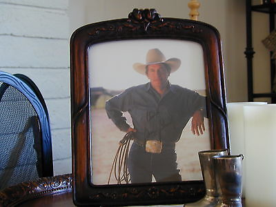 """GEORGE STRAIT SIGNED AUTOGRAPH PHOTO 8"""" X 10"""", free shipping"""