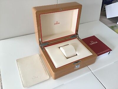 Authentic Omega Wood Box. (New)