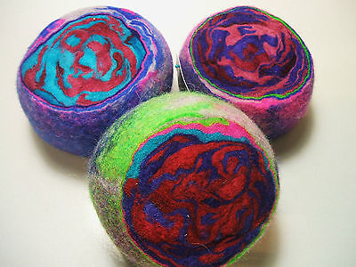 Original Ewesful Pincushion Pin Cushion Felted Wool NEW