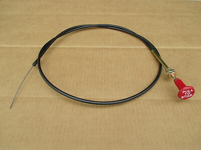 Fuel Shutoff Cable For John Deere Jd 4040 4050 4055 4240 4250 4255 4430 4440