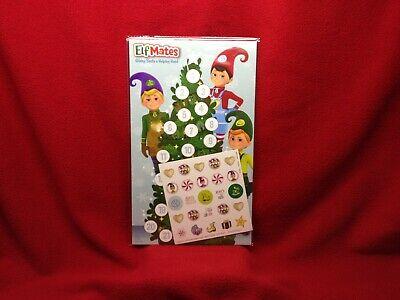 Elf On The Shelf Advent Calendar* Elf Mates Countdown Days To Christmas*Stickers