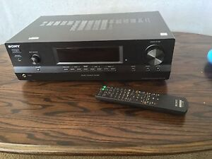 New Sony Receiver 2 channels