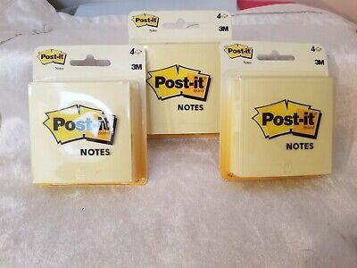 Lot Of 3 4pks Of Post Its