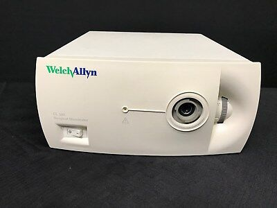 Welch Allyn Cl 300 Surgical Illuminator Ref 90123 W Power Cord Tested