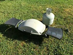 Weber Baby Q Barbaque with Gas Bottle