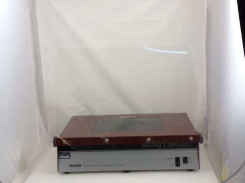 Hoefer UVTM-25 UV-Lamp Mighty Bright Transilluminator Used