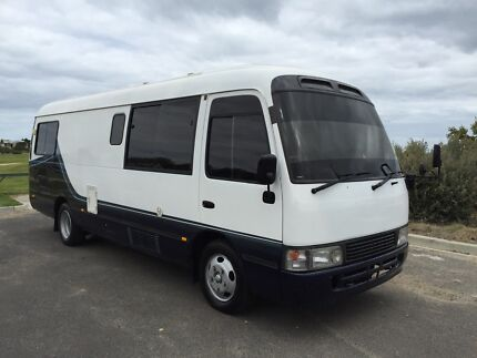 1995 Toyota Coaster Motorhome 1HDT 4.2 Turbo 80,000 klm's Bentleigh Glen Eira Area Preview