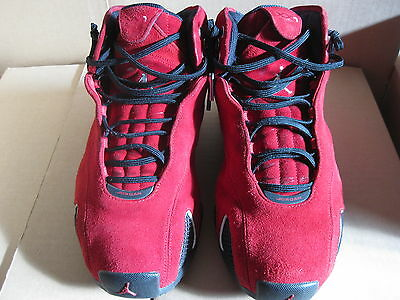 Nike jordan 21 red suede  Sz 9