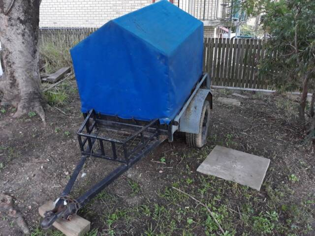 Car Trailer Small with Canopy | Trailers | Gumtree ...