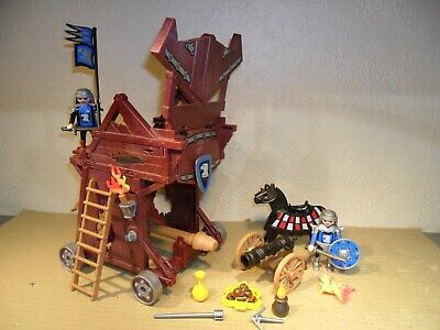 PLAYMOBIL KNIGHTS SIEGE SET (Cannon For castle)