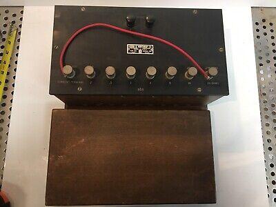 Antique Leeds And Northrup Co Potentiometer 4390 Multi Range Shunt Box