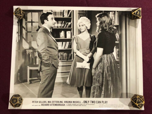 ONLY TWO CAN PLAY ORIGINAL MOVIE PHOTO STILL 1962 PETER SELLERS  PINK PANTHER 1