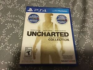 Uncharted The Nathen Drake Collection PS4 Game Used