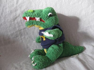"MCM GROUP CHELSEA TEDDY BEAR COMPANY PLUSH  8"" alligator crocodile Navy"
