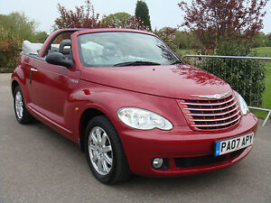 2007 CHRYSLER PT CRUISER TOURING 2.4 AUTOMATIC CONVERTIBLE UNRECORDED