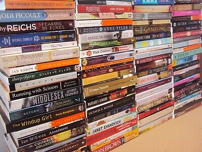 RANDOM MIX Lot 10-LBS Large Trade Size Paperback Fiction Literature All category