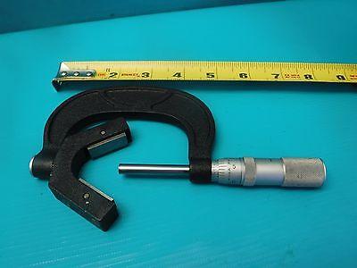 Used Brown Sharpe V Anvil Micrometer