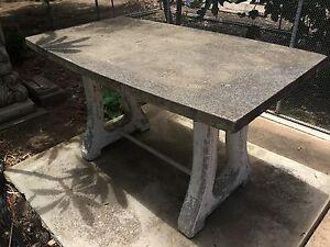 concrete outdoor tables Garden