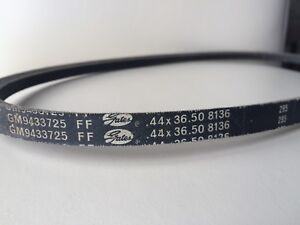 GM 9433725 V-Belt .44 x 36.50 for 67-68 Z/28