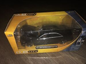 Diecast Mercedes S550 2007 DUB édition black on black