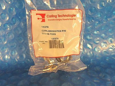 Carling Technologies Toggle Switch 111 16 73Xg  1 X 878