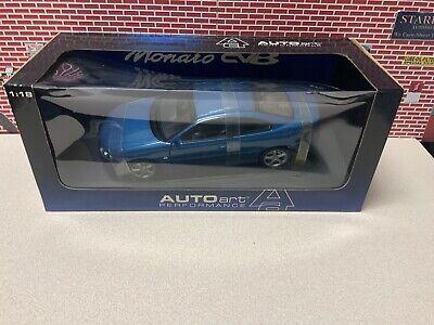 1/18 AutoArt 2004 Holden Monaro V2 RHD Blue GTO GMP See Photos Damage Box
