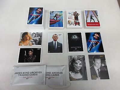 2017 James Bond Archives Final Edition Mini-Master Set with Binder & Throwbacks