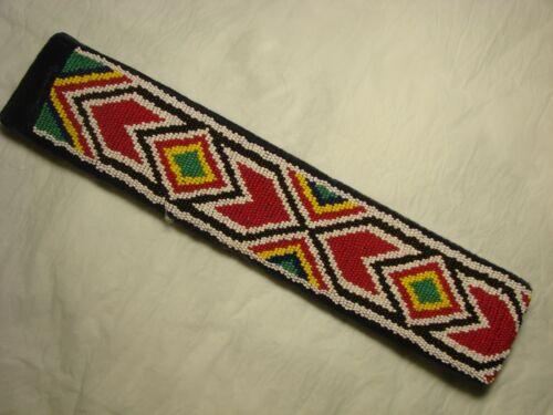 Beaded headband or hatband