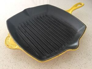 Le creuset square grill pan 26cm Eastwood Ryde Area Preview