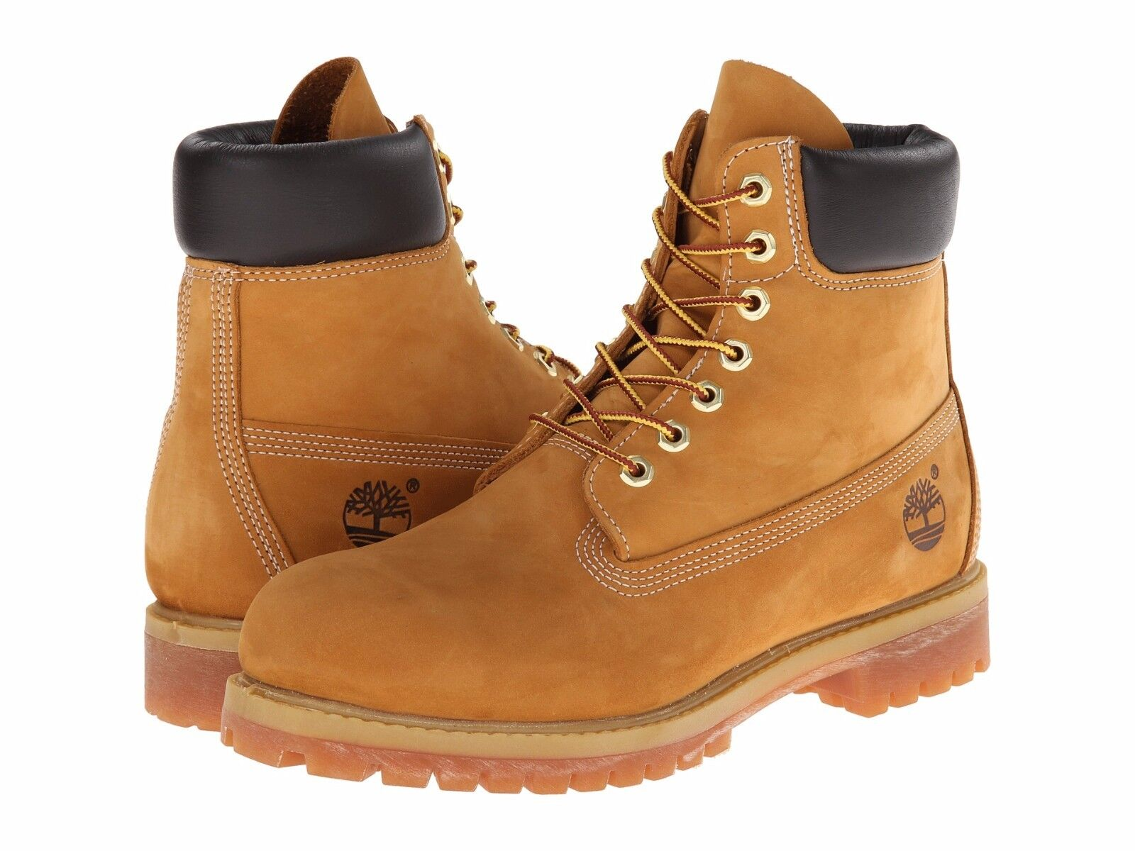 Boots - Men's Shoes Timberland 6 Inch Premium Waterproof Boots 10061 Wheat *New*