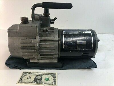 Yellow Jacket 93460 Superevac 2 Stage Hvac Vacuum Pump 6 Cfm 115v60hz