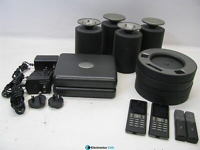 RevoLabs FLX2 Wireless Conference Phone System Bundle VOIP *See Notes* for sale  Shipping to India