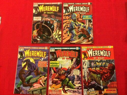 Werewolf by Night #16 - 20 (Marvel Comics 1973) Mike Ploog Don Perlin, Dracula