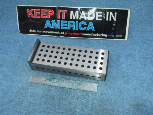 FIXTURE PLATE 1-3/16X2-1/2X6-1/2  MACHINIST TOOLMAKER CLEAN INSPECT FRESH GRIND!